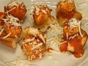Rosalie Fiorino Harpole's Italian Turkey Meatballs in Marinara Sauce