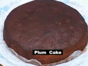 Indian Christmas Plum Cake