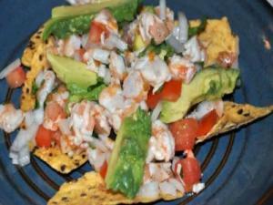Ceviche de Camaron aka Shrimp Ceviche