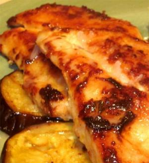 Convection Baked Sweet And Tangy Chicken