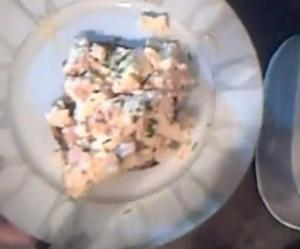Once a Week Kitchen - Scrambled Eggs with Smoked Salmon