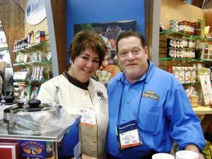 """The Tortilla Guy"" & Chef Wynnie Stein from Moosewoods Kitchens"