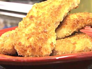 Crispy Chicken Strips - A Healthy Alternative to a Happy Meal for Kids--They Make Adults Happy Too!