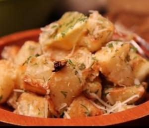 Roasted Potato Salad with Lemon and Dill - Weekday Cooking