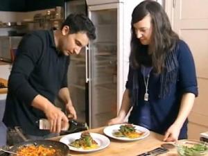 Ravioli selber machen Rezept - Pasta selbstgemacht - Pilz-Füllung - Tomatensosse