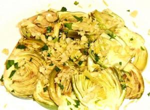 Marinated Artichokes With Mint