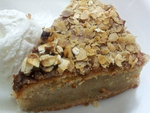 Banana Oat Whole Wheat Dense Cake