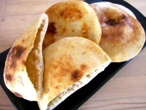 Turkish Kofta in Pita Pocket Bread