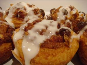 Raisin Cinnamon Rolls