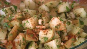 Yummy Creamy Potato Salad with Zaatar