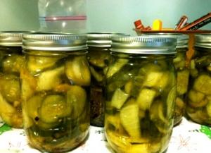 Delicious Sweet Pickles