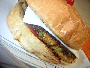 A Homemade Burger