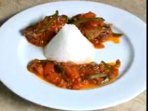 Stir-fried Sardines in Tomato Sauce