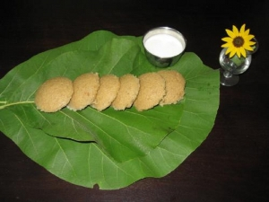 Rice And Moong Dal Idli
