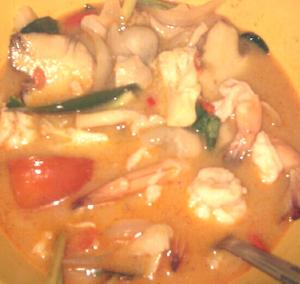 Lima Shrimp Soup