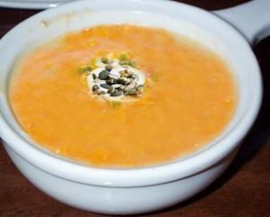 Orange-Apricot-Yoghurt Soup