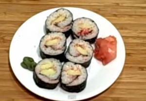 Cucumber Sushi Maki
