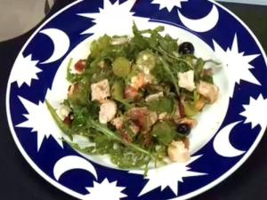 Chicken Bacon Blue Salad