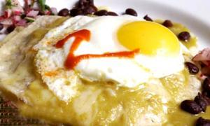 Eggs on Roasted Veggies