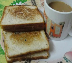 Kheera Pyaz And Paneer Sandwich