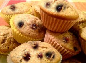 Sour Cherry Muffins
