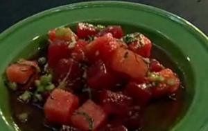 Tuna Ceviche: Michelle Bernstein