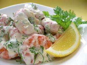 Shrimp And Celery Salad