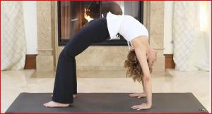Urdhva Dhanurasana or the Upward Facing Bow Pose with Holly Mosier