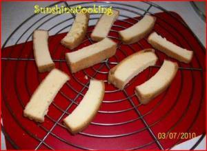 Solar Toasted Pound Cake Sticks