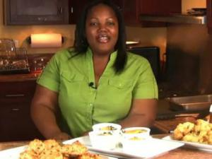 Brunch! Cheddar & Bacon Biscuits with Baked Eggs Over Spinach & Mushrooms (Cooking with Carolyn)