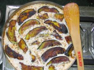 Dahi baigaan(Brinjal in curd gravy)