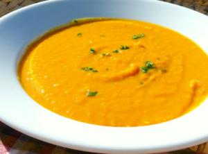 Creamy Apple and Butternut Squash Soup