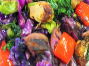 Sautéed Mixed Vegetables