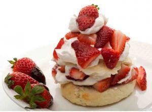 Old-Fashioned Strawberry Shortcake
