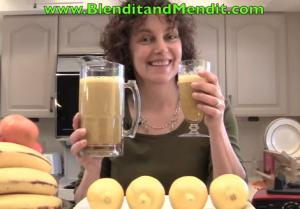 Anti Aging Orange and Mint Smoothie