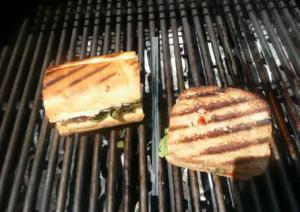 Italian Style Grilled Veg Sandwich