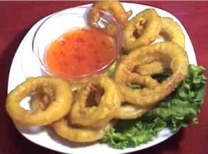 Curry Onion Rings