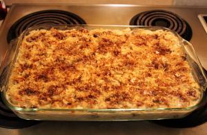 Sour Cream Chicken Tetrazzini