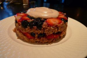 Jumble Berry Upside Down Cake