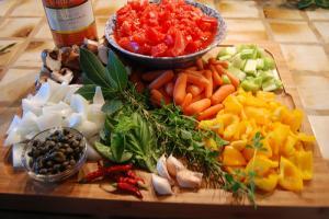 Vegetarian Cacciatore