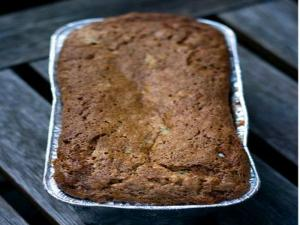Damson Plum Banana Bread