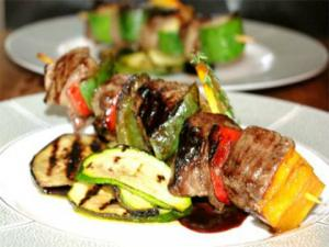 Speedy Steak Kabobs