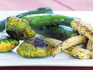 Grilled Baby Vegetables