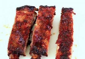 Honeyed Pork Riblets