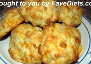 Garlic Cheddar Cheese Biscuits