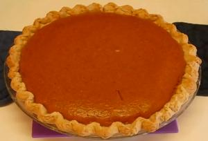 Betty's All Time Favorite Pumpkin Pie