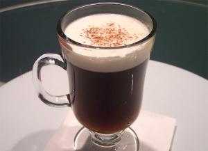 Nutmeg Flavored Irish Coffee