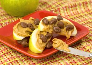 Milk Chocolate Raisin Apple Snack