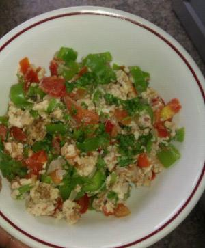 Scrambled Egg and Veggies