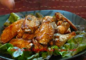 Grilled Carolina Chicken Wings